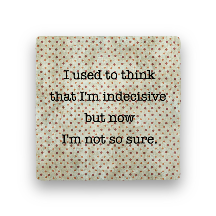 Indecisive-Polka Spots-Paisley & Parsley-Coaster