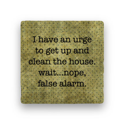False Alarm-Polka Spots-Paisley & Parsley-Coaster