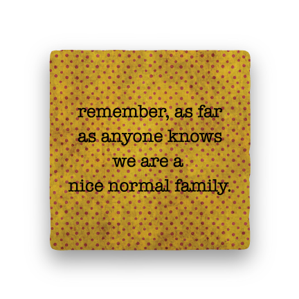 Normal Family-Polka Spots-Paisley & Parsley-Coaster