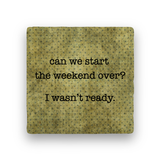 Weekend Over-Polka Spots-Paisley & Parsley-Coaster