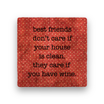 Best Friends-Polka Spots-Paisley & Parsley-Coaster