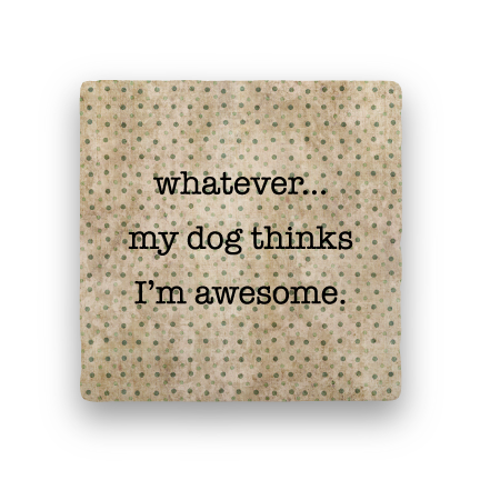 Whatever-Polka Spots-Paisley & Parsley-Coaster