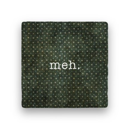 Meh-Polka Spots-Paisley & Parsley-Coaster