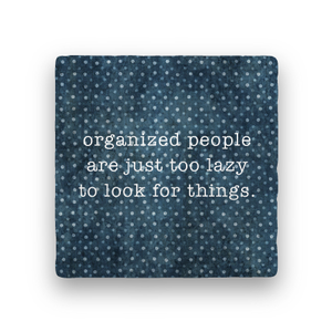 Too Lazy-Polka Spots-Paisley & Parsley-Coaster