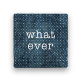 What Ever-Polka Spots-Paisley & Parsley-Coaster