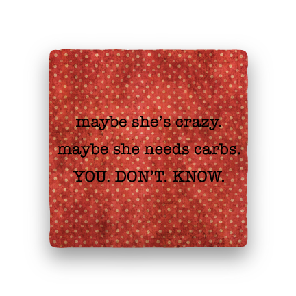 You Don't Know-Polka Spots-Paisley & Parsley-Coaster