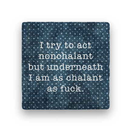 Chalant-Polka Spots-Paisley & Parsley-Coaster