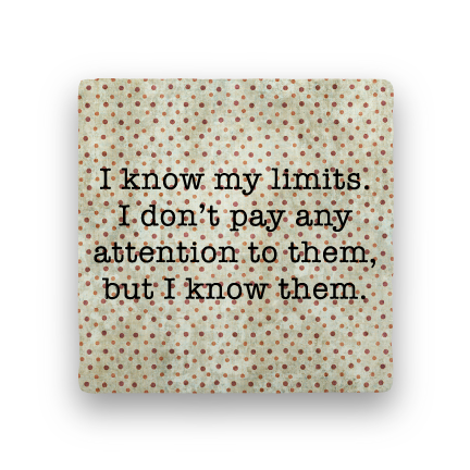 My Limits-Polka Spots-Paisley & Parsley-Coaster