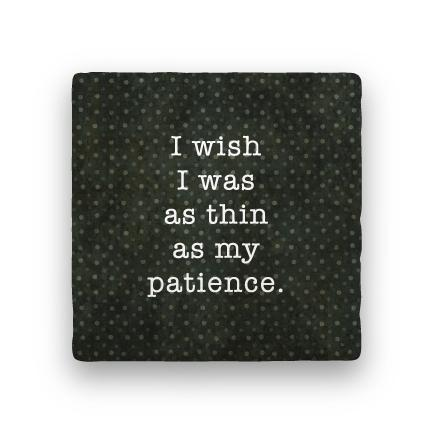 Patience-Polka Spots-Paisley & Parsley-Coaster