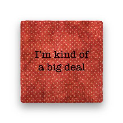 Big Deal-Polka Spots-Paisley & Parsley-Coaster