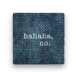 Hahaha-Polka Spots-Paisley & Parsley-Coaster