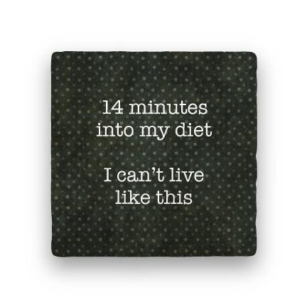 14 Minutes-Polka Spots-Paisley & Parsley-Coaster