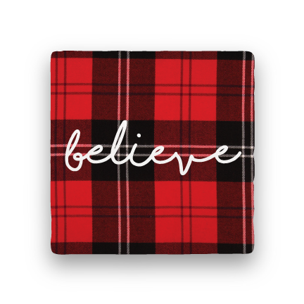 Believe-Holiday-Paisley & Parsley-Coaster
