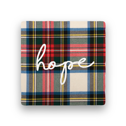 Hope-Holiday-Paisley & Parsley-Coaster
