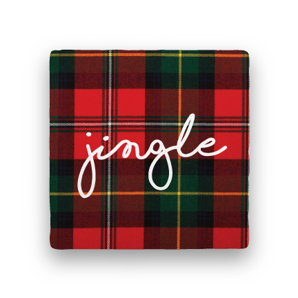 Jingle-Holiday-Paisley & Parsley-Coaster