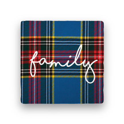Family-Holiday-Paisley & Parsley-Coaster