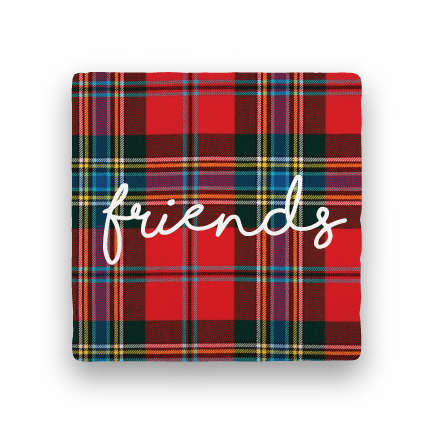 Friends-Holiday-Paisley & Parsley-Coaster