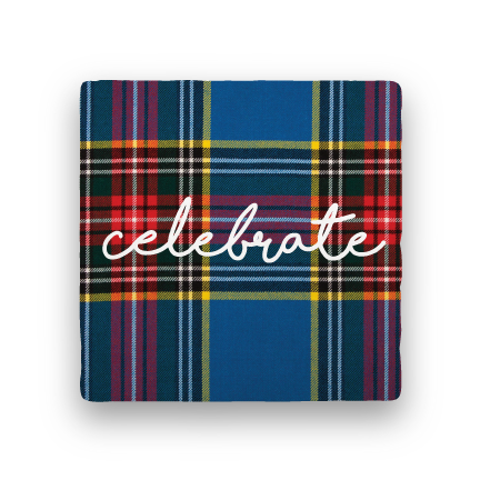 Celebrate-Holiday-Paisley & Parsley-Coaster
