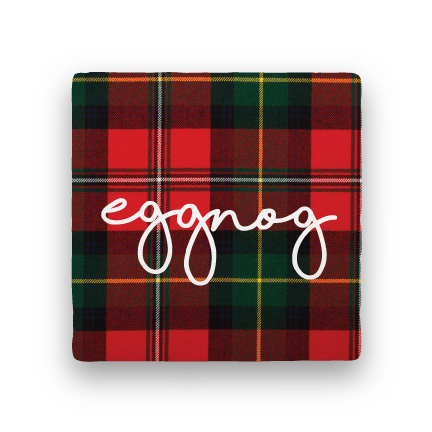 Eggnog-Holiday-Paisley & Parsley-Coaster