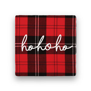 Ho Ho Ho-Holiday-Paisley & Parsley-Coaster