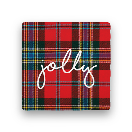 Jolly-Holiday-Paisley & Parsley-Coaster