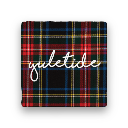 Yuletide-Holiday-Paisley & Parsley-Coaster