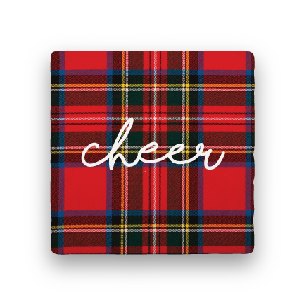 Cheer-Holiday-Paisley & Parsley-Coaster