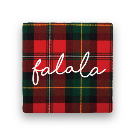 Fa La La-Holiday-Paisley & Parsley-Coaster