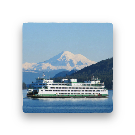 Mt. Baker and Ferry