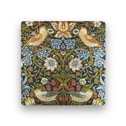 Morris Birds-Florals-Paisley & Parsley-Coaster