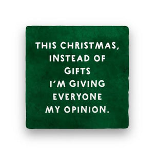 Instead of Gifts