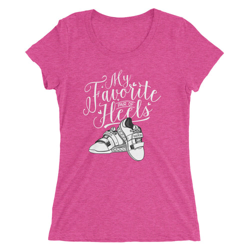 Women's My Favorite Pair of Heels short sleeve t-shirt