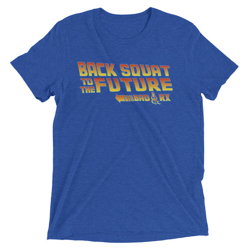 Back Squat to the Future T Shirt