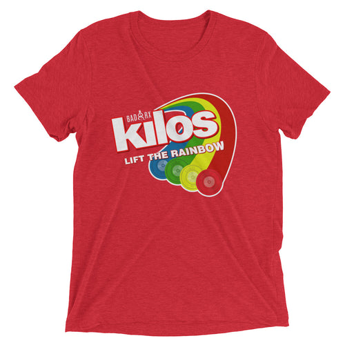 Kilos Lift The Rainbow Short sleeve t-shirt