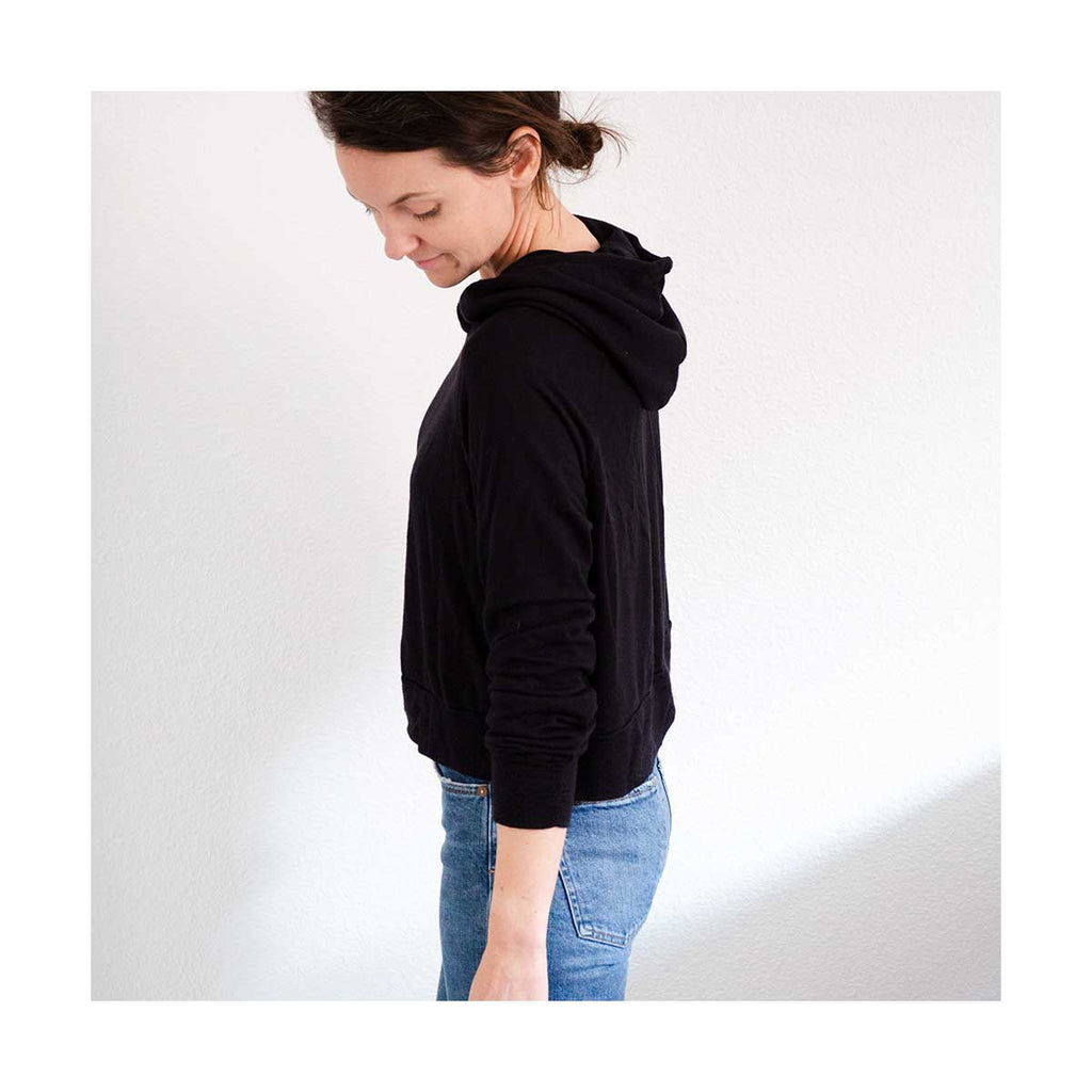 Page Hoodie Sewing Pattern by Chalk and Notch
