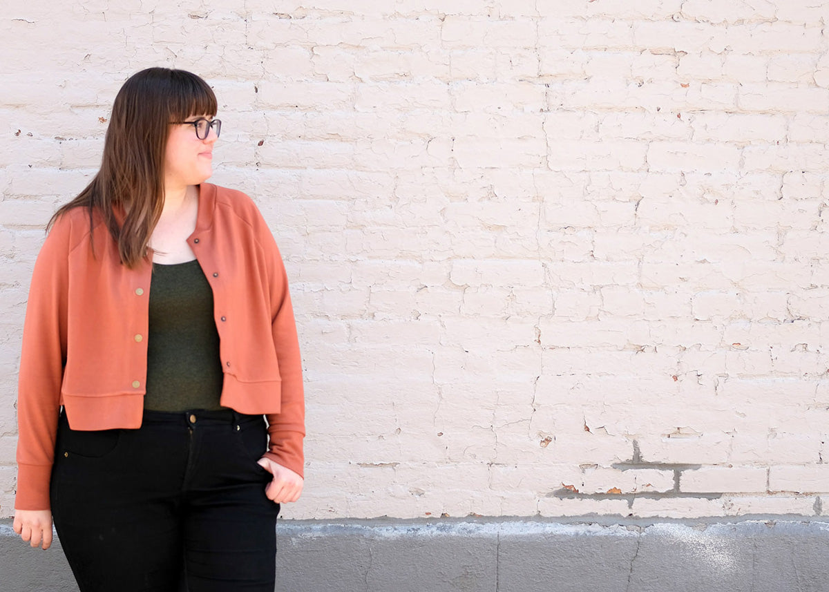 Monarch Jacket Sewing Pattern by Allie Olson