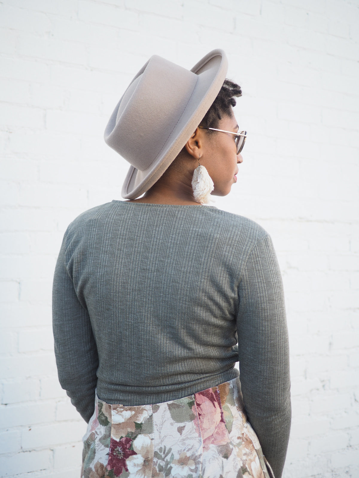Back View | Elio Top Sewing Pattern