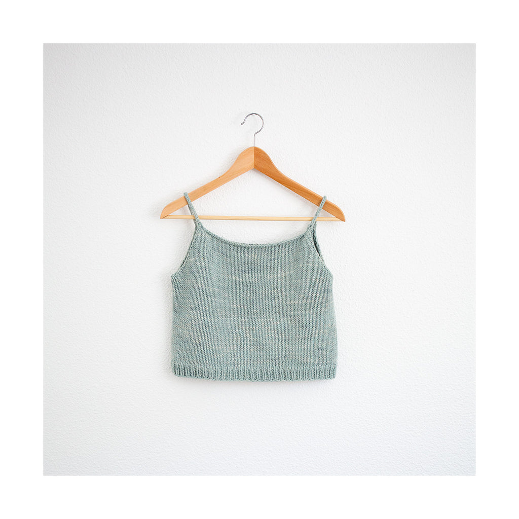 Beach Tank Knitting Pattern by Mild Woman