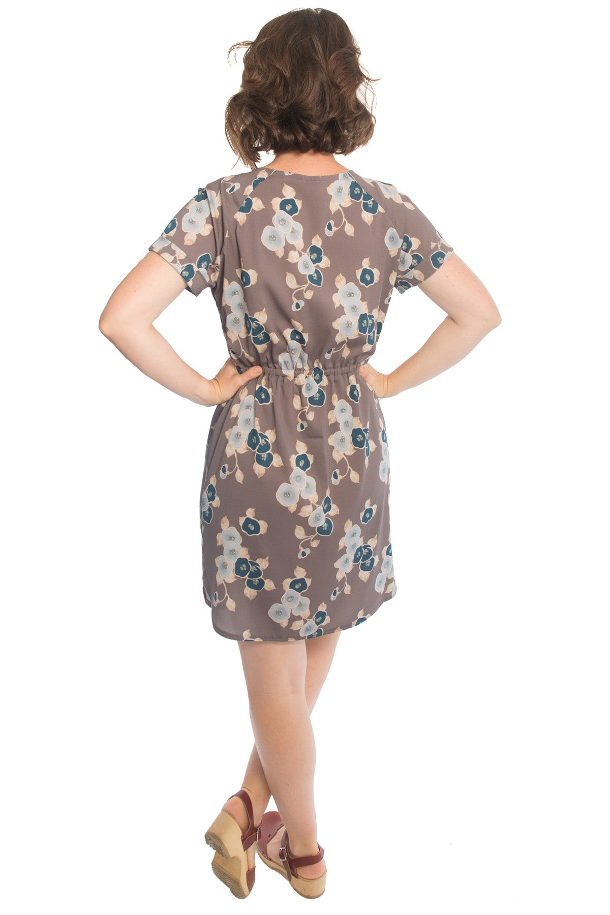 Coram Dress Back | Allie Olson Sewing Patterns