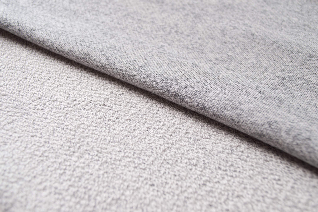 Grey French Terry Fabric