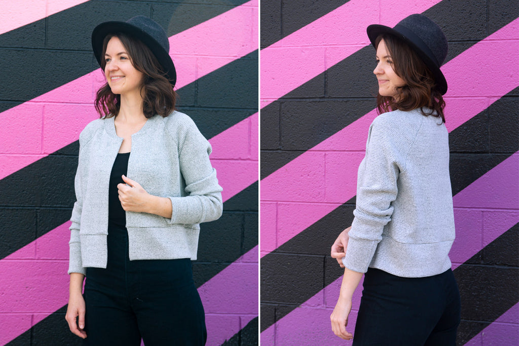 Monarch Jacket Front and Back | Allie Olson