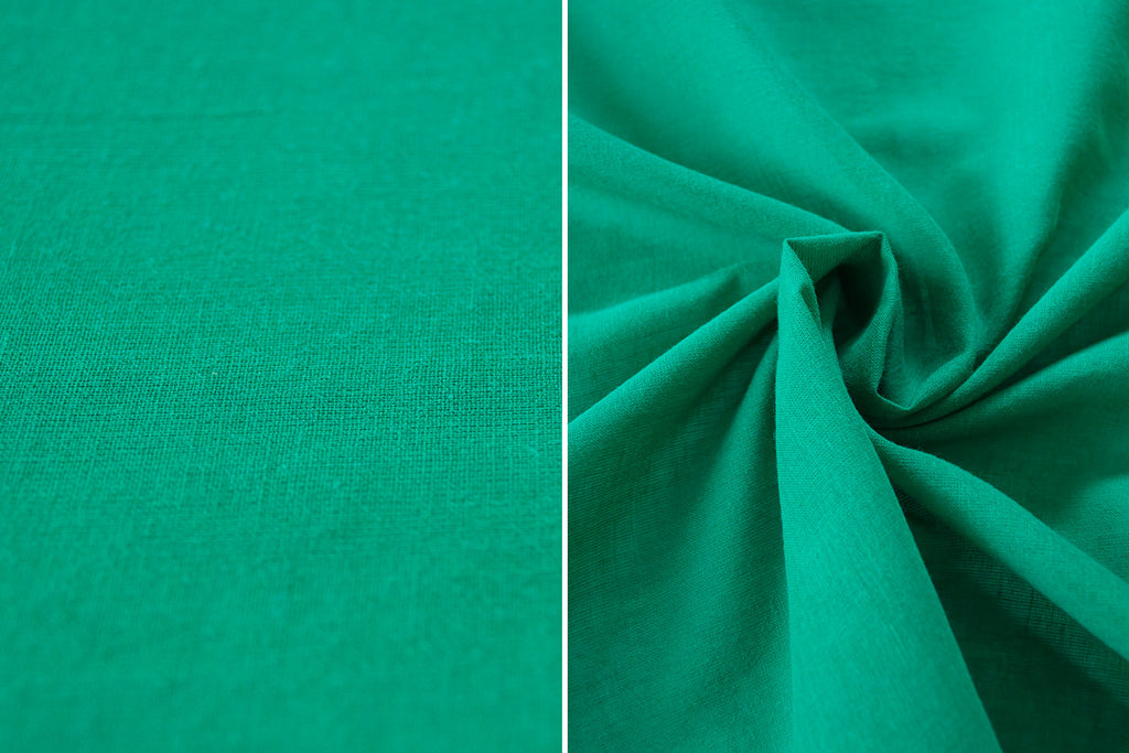 Kelly Green Voile Fabric