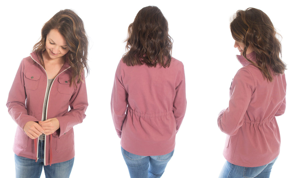 Pink Lonetree Jacket