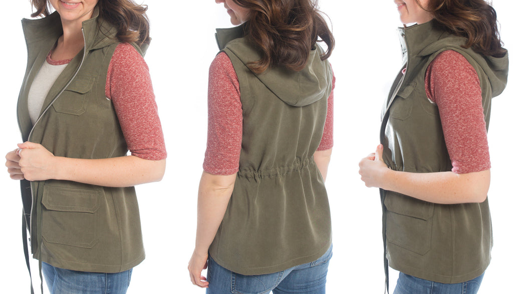 Lonetree Vest | Allie Olson Sewing Patterns