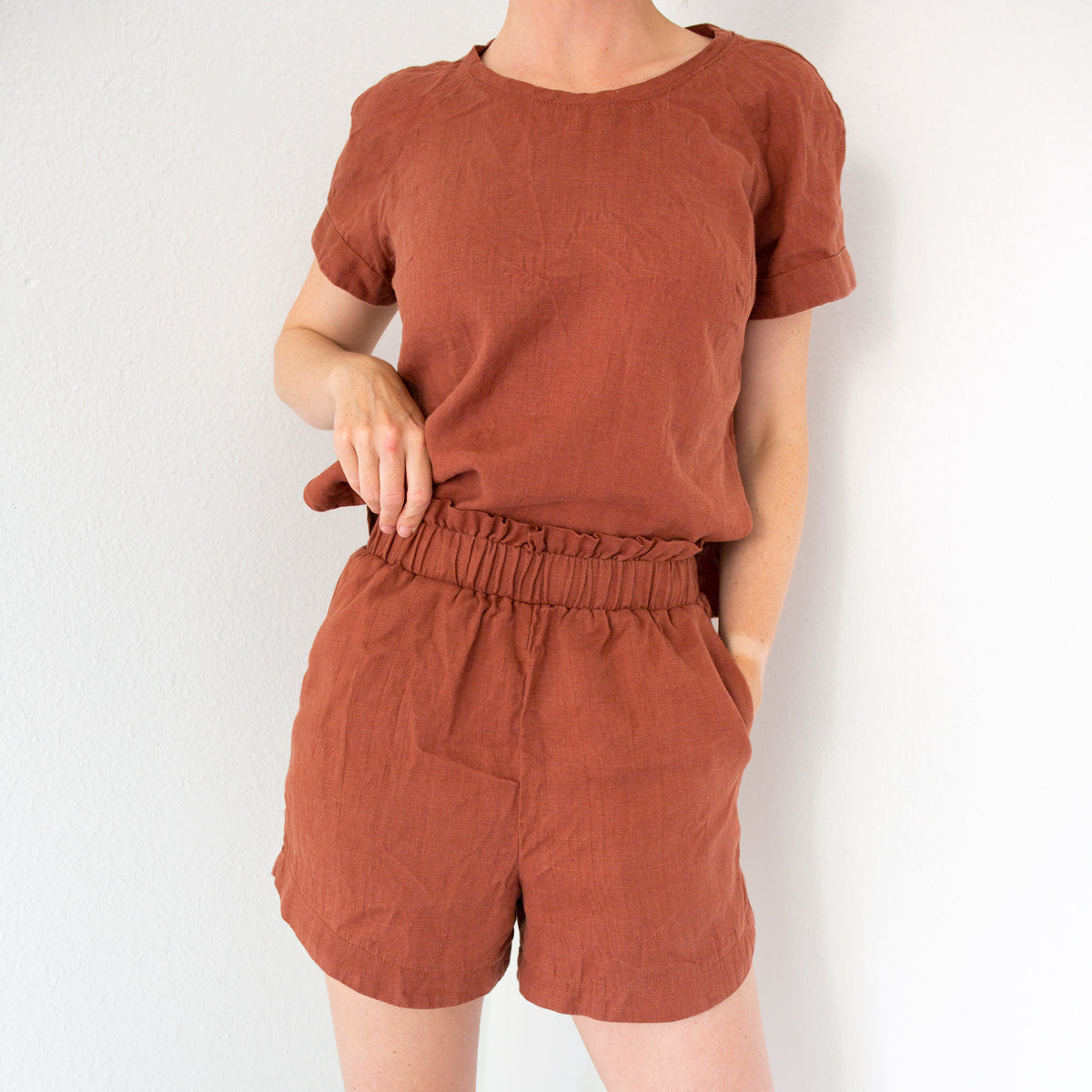 Coram Top Sewing Pattern by Allie Olson