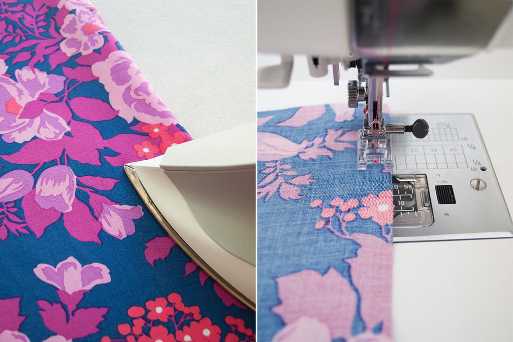 How to Sew with Rayon Challis Fabric