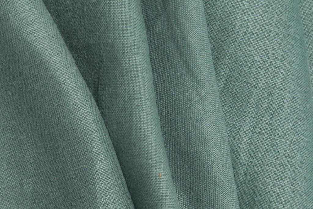 Seafoam Green Linen Fabric