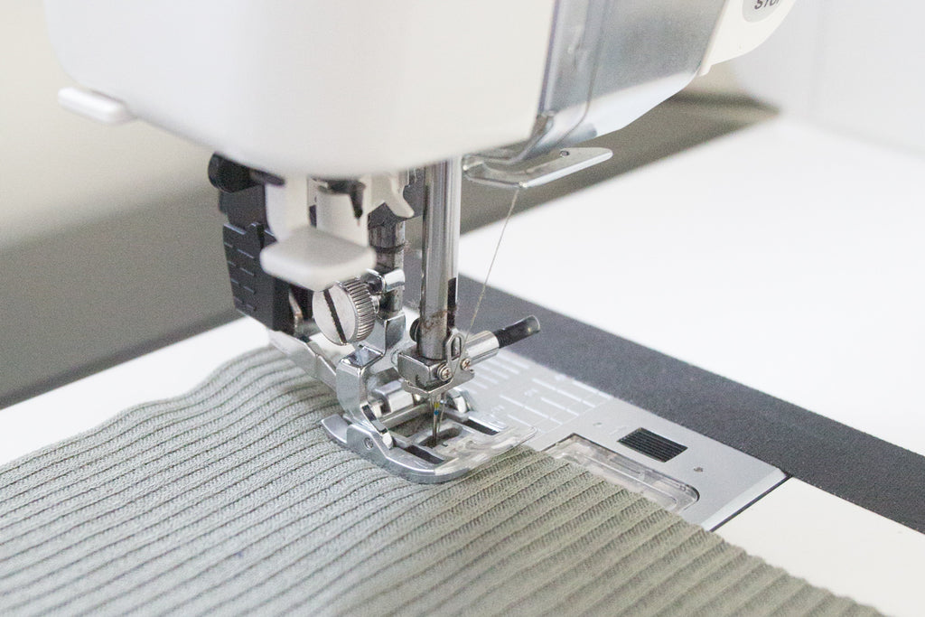 How to Sew with Rib Knit Fabric