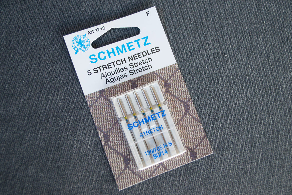 Use stretch needles when sewing with ponte fabric.