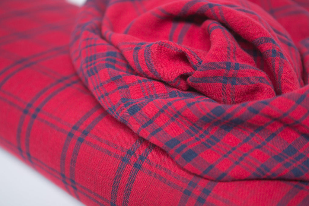 Washed Double Cloth Fabric